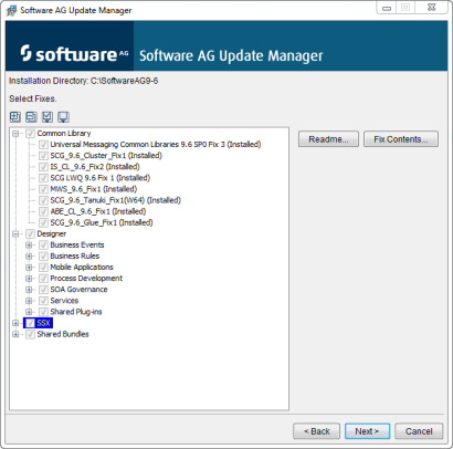 update manager updates available
